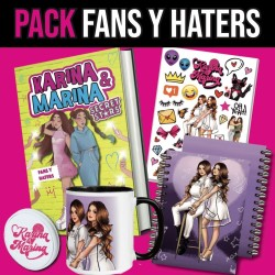 Pack FANS Y HATERS - Libro...