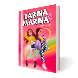 Libro Un Plan Top Secret - Karina & Marina 6  Dedicado + Pegatinas Troqueladas + MarcaPagina