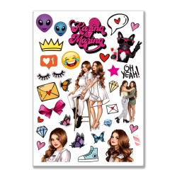 32 Stickers DIVA exclusivo...